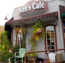 Street View of Sven's Cafe