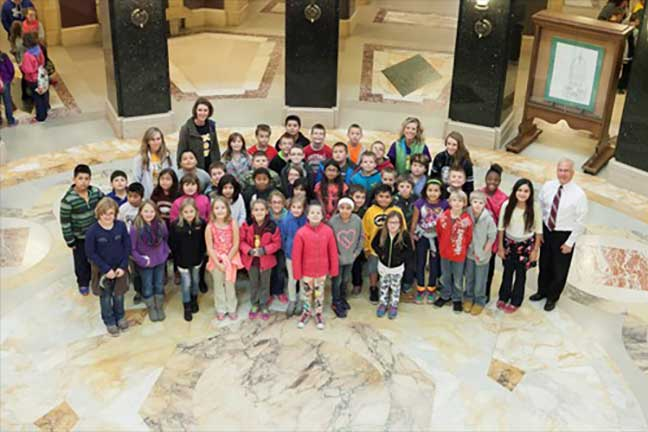 West Elementary School Day At The Capitol