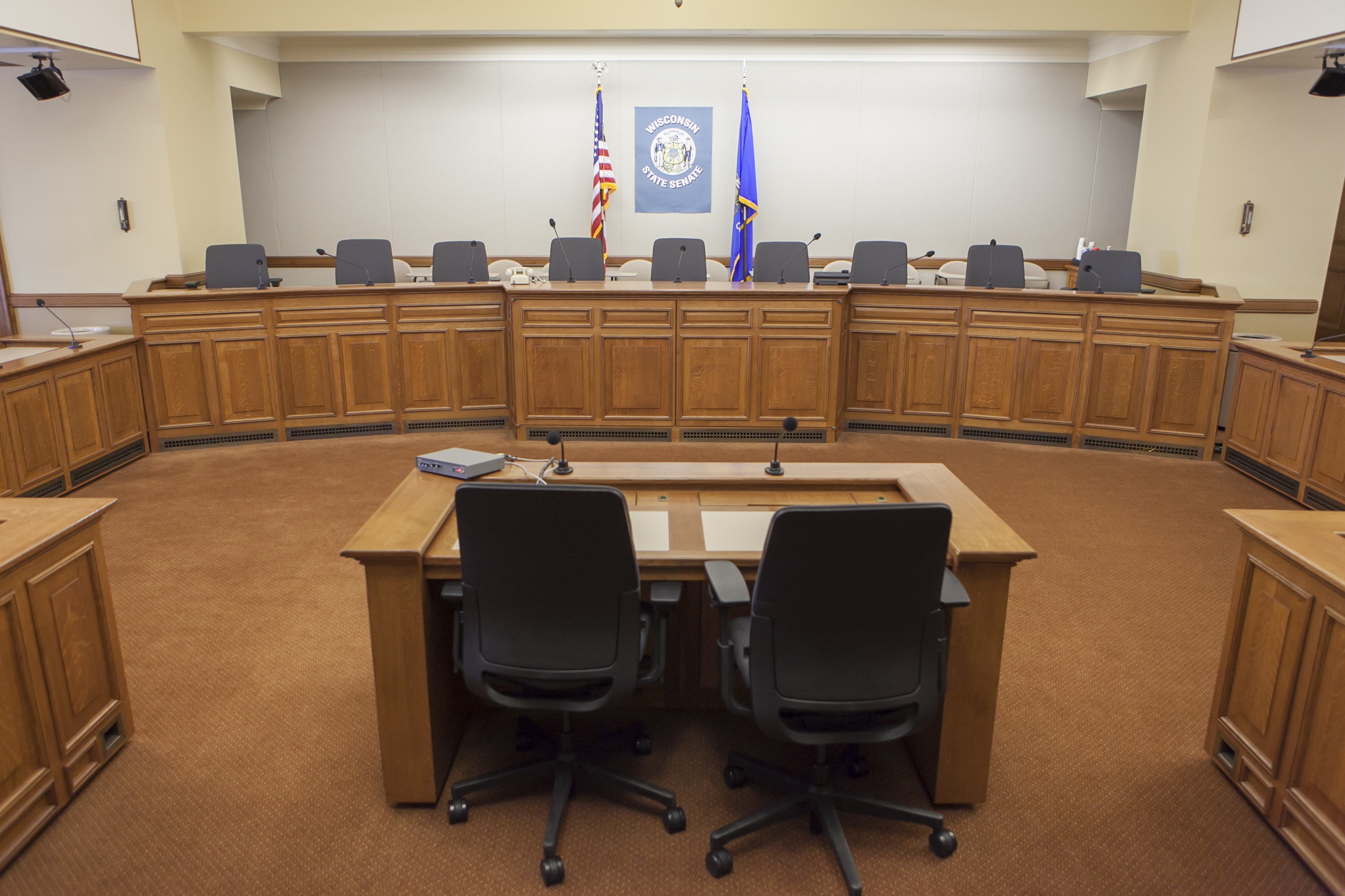 411S Hearing Room (100 people) View 2